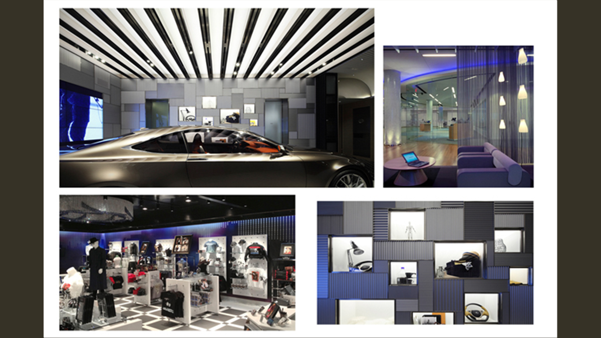 Showroom Merchandising Concept Images