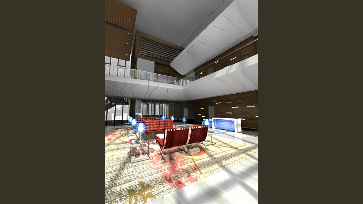 Lobby and Lounge - View 1