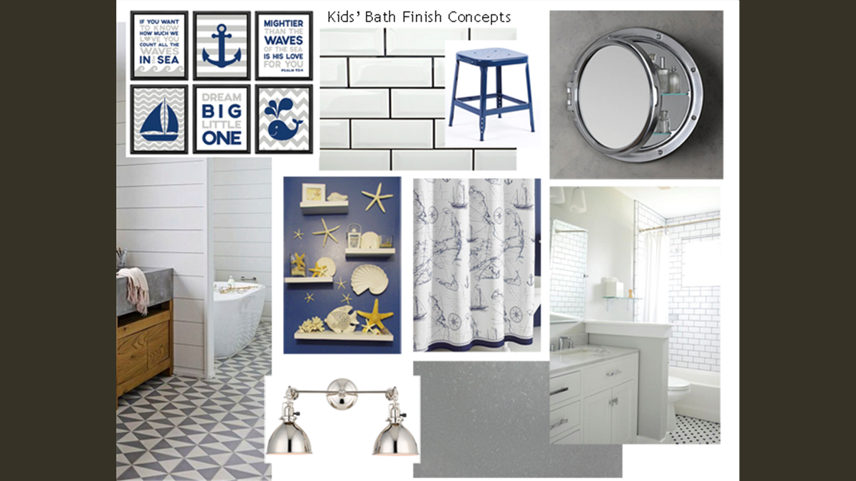 Interior Concept Design Image - Kids Bathroom