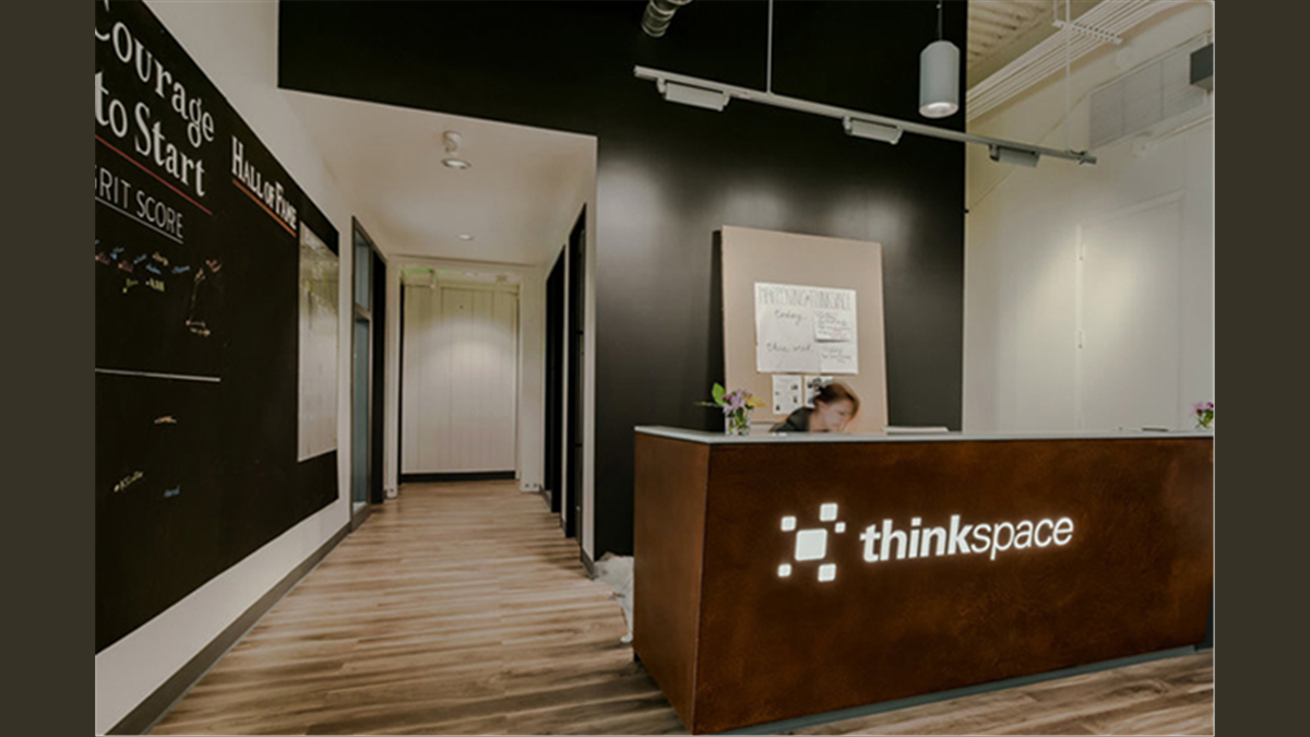 thinkspace Lake Union Co-Working Office - Entry Concierge View
